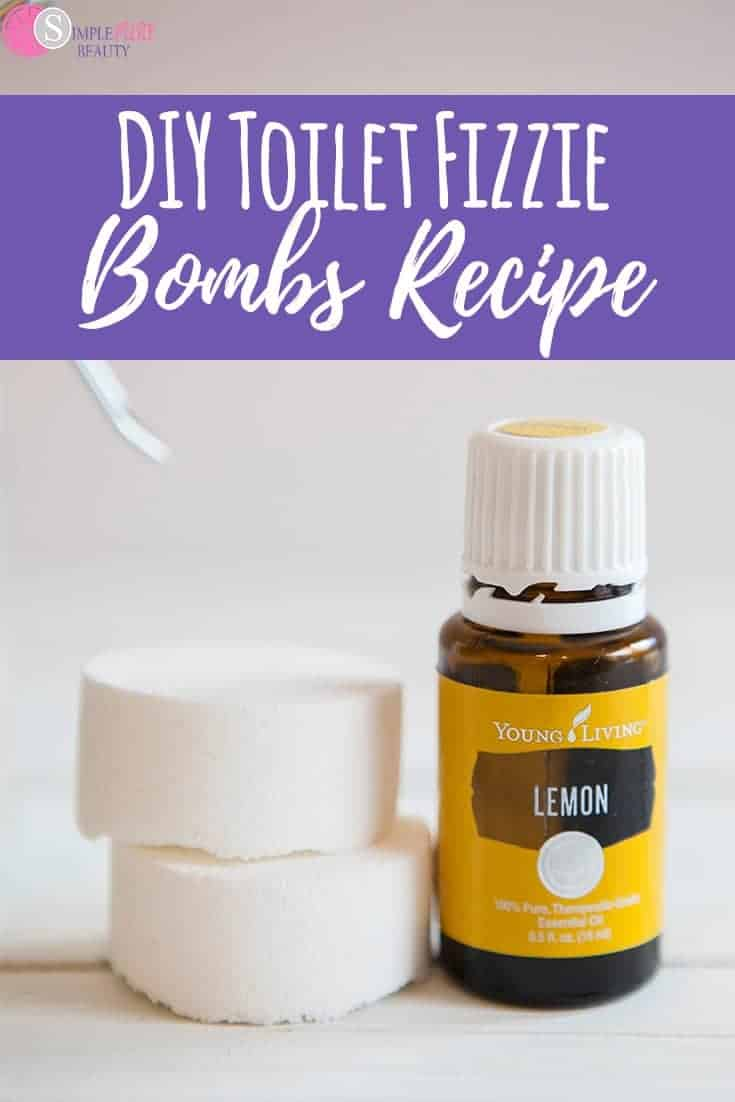 DIY toilet fizzie bombs will get your cleaning done in no time. They smell amazing and don't have any poisonous ingredients. You'll enjoy making them as well as using them. #cleaningtricks #cleaninghacks #cleaningtips #naturalcleaning #essentialoils #bathroomcleaning #toilet