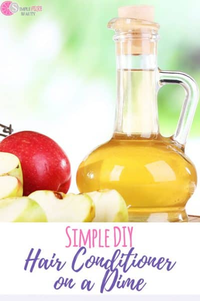DIY hair conditioner doesn't require fancy ingredients. You likely have everything on hand, especially the magic ingredient. #haircare #naturalhairproblems #naturalhairgrowth #diybeauty