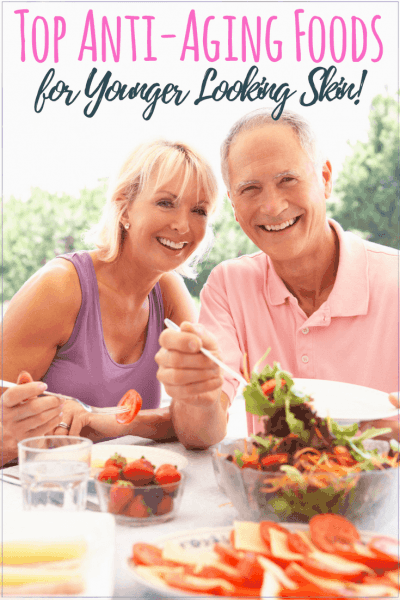 Top Anti-aging Foods for Younger Looking Skin #antiaging #organic #healthyskin #skincaretips #beautyhacks