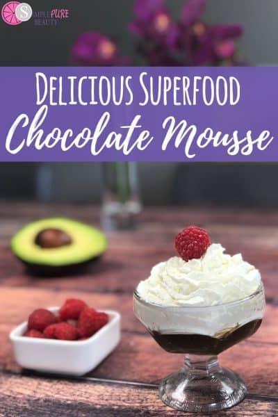 Delicious Vegan Superfood Chocolate Mousse