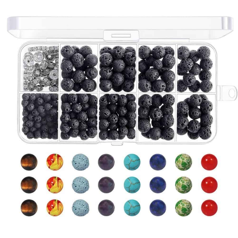 Add Essential Oils to Lava Beads