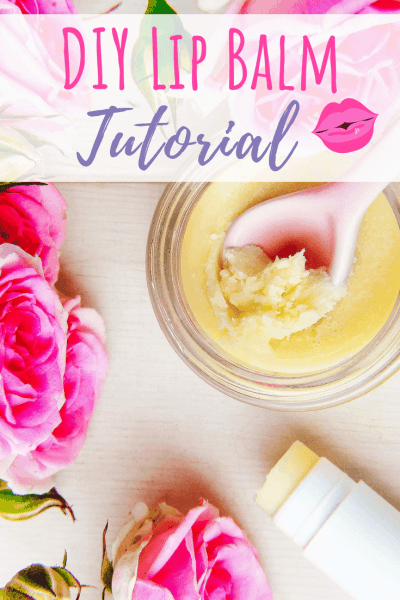 Easy DIY Lip Balm Recipe