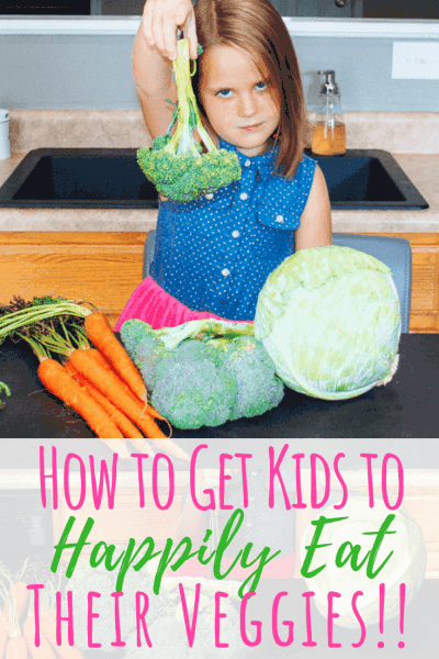 How to Get Your Kids to Eat Their Vegetables Every Day