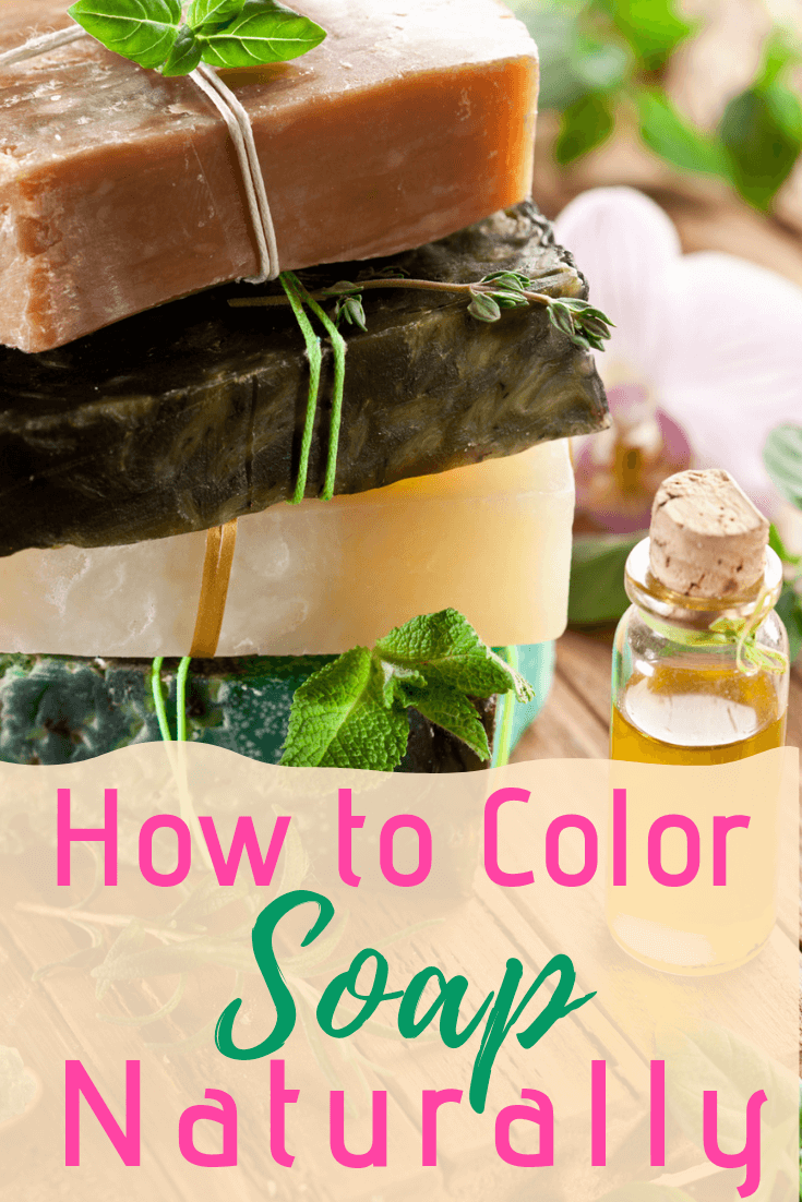 Making your own DIY soap is always the best option! If you are searching for a chemical-free, all natural soap, you have the ability to create your own! Plus, giving the gift of homemade soup is always the best homemade Christmas gift idea! Treat your body better with this naturally colored soap! #soap #soapmaking #natural #essentialoils #aromatherapy #diy #handmade