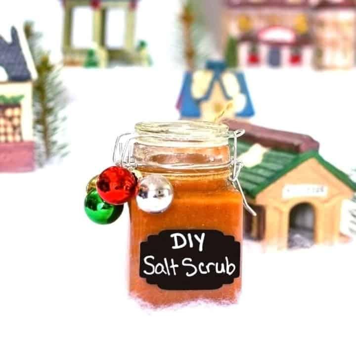 Pink Himalayan Salt Scrub Recipe