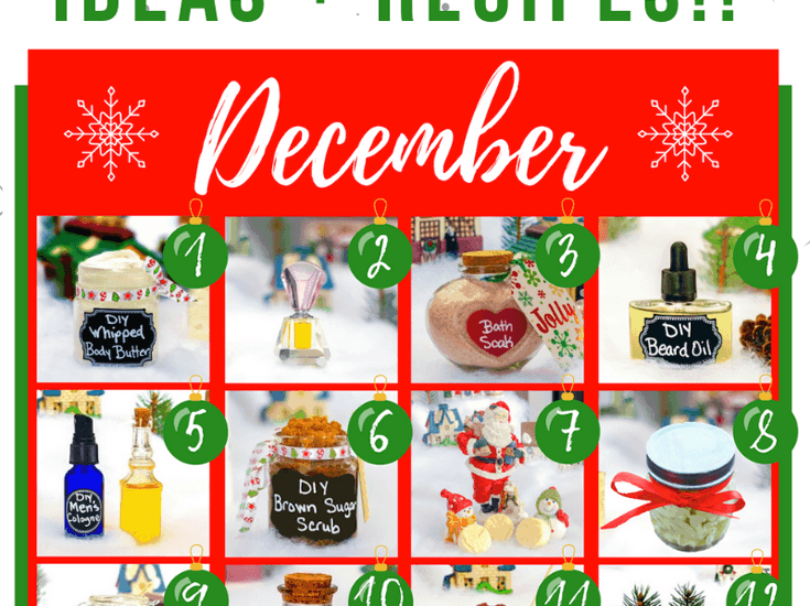These DIY Beauty Gift Ideas make the Perfect homemade Christmas Gifts for women and men! Make the DIY Aftershave for Men this Christmas, while checking out the Sugar Scrub Gift Ideas for the women in your life. Everyone will enjoy receive a Lotion Bar Gift or a Salt Scrub with Essential Oils. These 12 Homemade Christmas Gift Ideas will make the perfect DIY Christmas Gifts for your family & friends! Download your FREE Copy of: 12 Days of Homemade Christmas Gift Ideas! #giftideas #christmasgifts