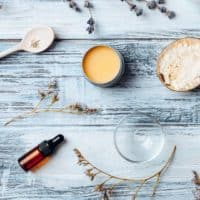 Solid Perfume Recipe with Essential Oils