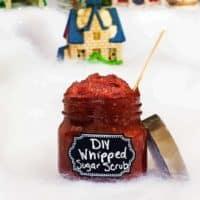 Whipped Hibiscus Sugar Scrub Recipe