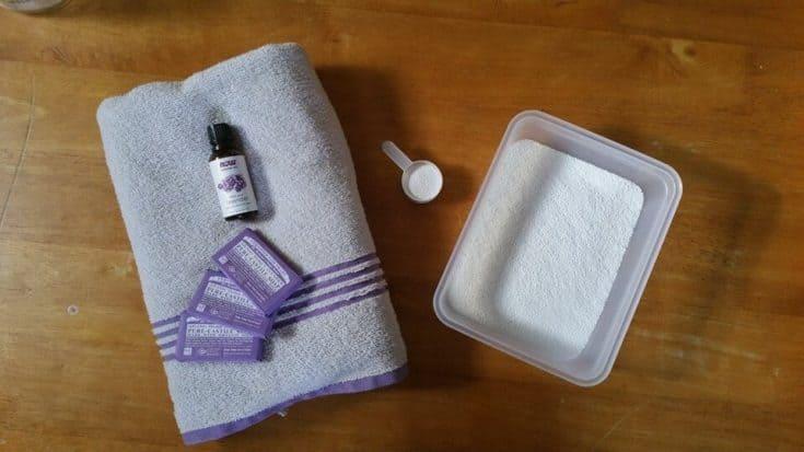 DIY Lavender Laundry Soap
