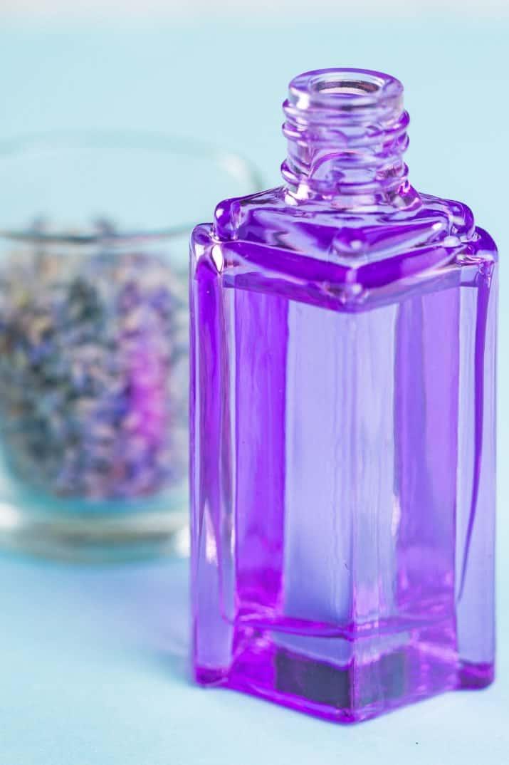 natural lavender soap using essential oil