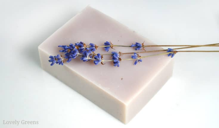 Simple Lavender Soap Recipe + how to customize it • Lovely Greens