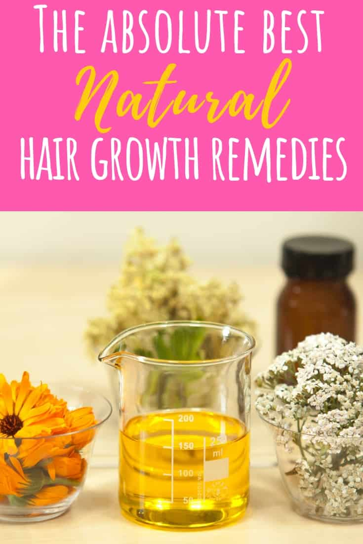 Finding hair loss treatments that work can be hard. You really need to dig into hair loss causes. Hair loss for women can be related to alopecia, hormonal changes, pregnancy, stress, and even thyroid issues. These DIY hair loss remedies range from aloe vera, coconut oil, fish oil, & ginseng. Essential oils for hair loss include lavender essential oil, rosemary, cedarwood, and peppermint. Creating a hair loss spray with these oils can help! #natural #essentialoils #naturalhairgrowth #homemade