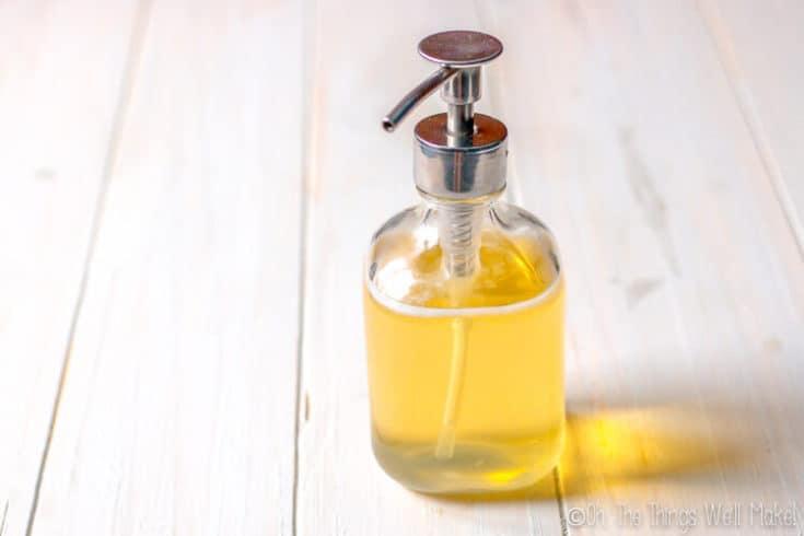 How to Make a Multipurpose Liquid Castile Soap: Dr. Bronner's Copycat Recipe