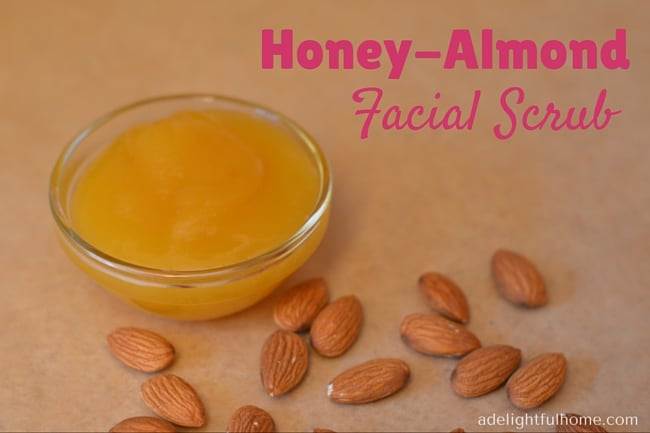 DIY Almond-Honey Facial Scrub for Smooth Skin