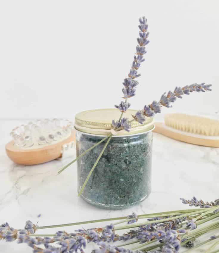 Soothing Lavender Earl Grey Sugar Scrub