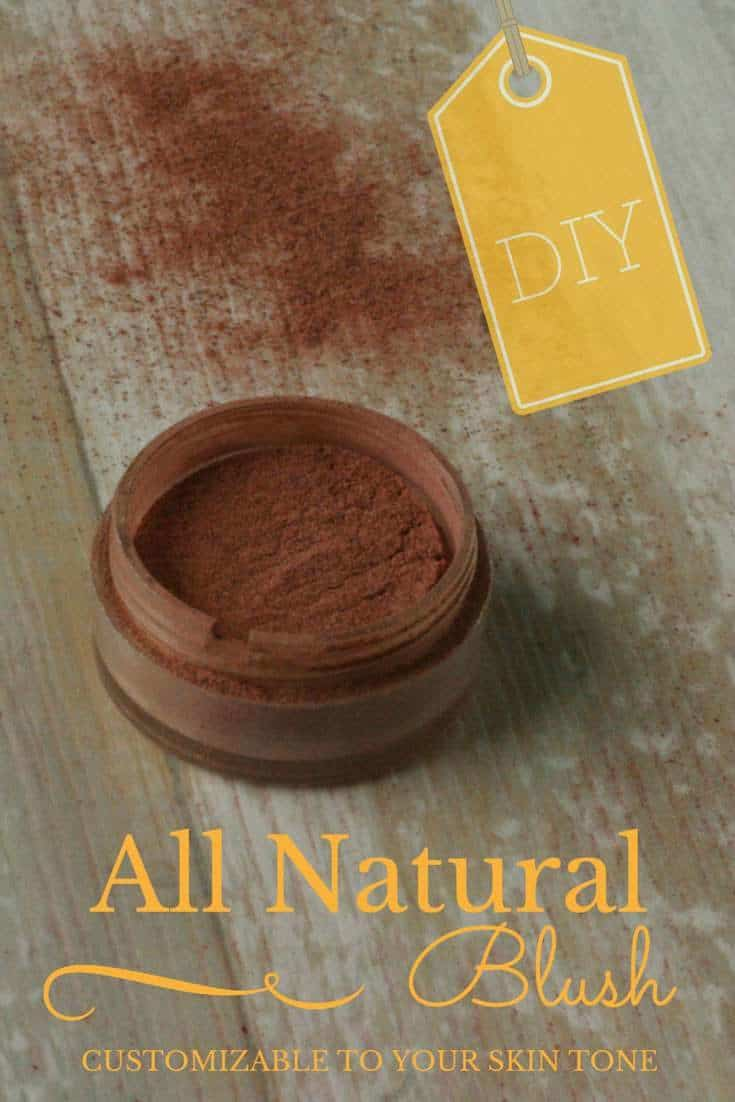 All Natural DIY Blush