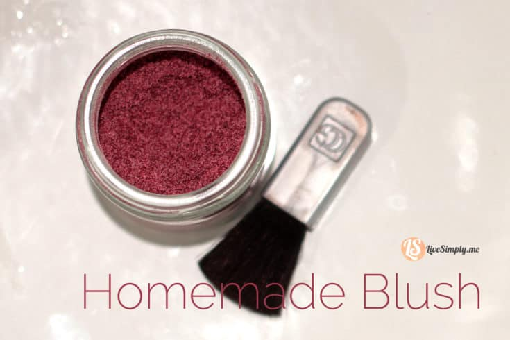 DIY Homemade Blush