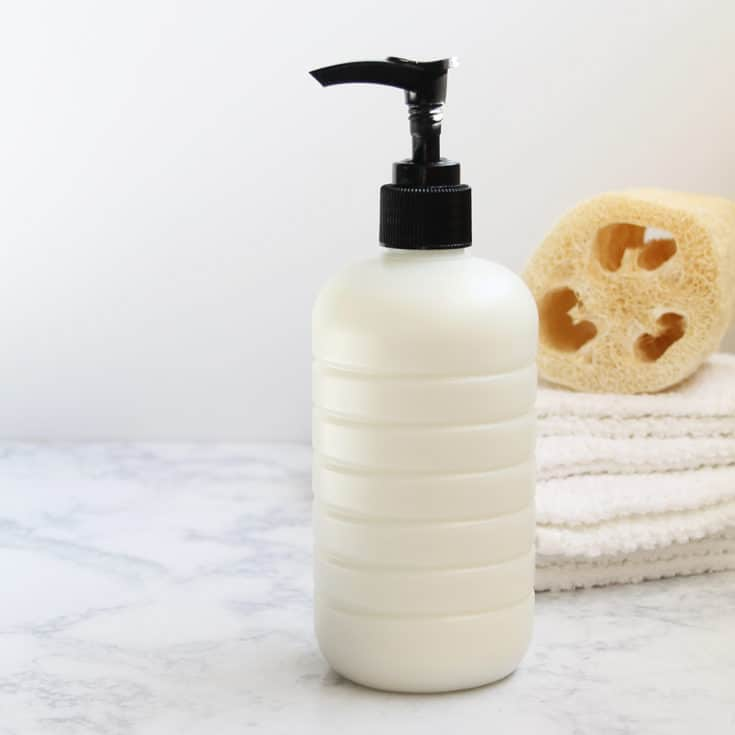 Make Your Own Creamy Homemade Body Wash in Minutes