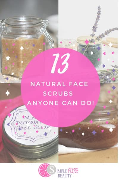 13 Homemade Face Scrubs Anyone Can Do!