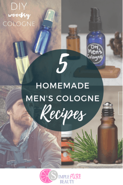 5 DIY Men's Cologne Recipes that Smell Amazing!