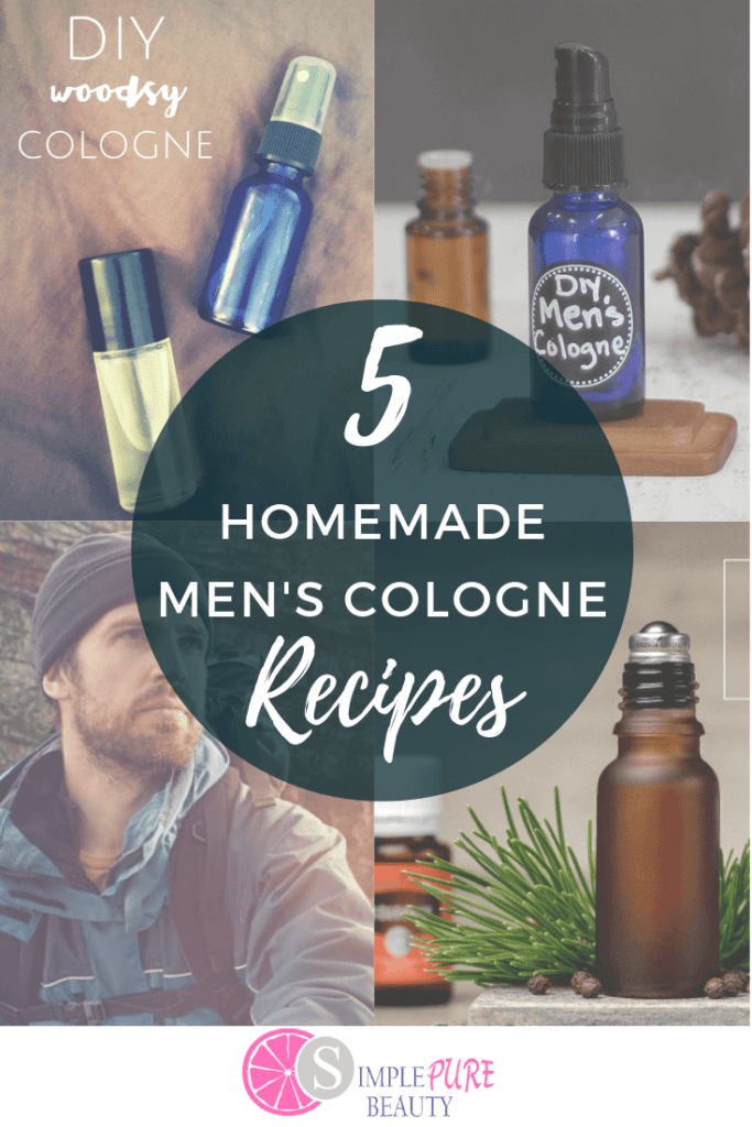 These natural homemade men's cologne recipes are simple and easy to do. All you need are some essential oils and a bit of time! Give the man in your life a wonderful gift of DIY cologne this year. They're free from harsh chemicals and lost a long time! Plus, you can keep them or give them as gifts, too. If you like spray cologne or roll-on, you can make both! From a sweet scent to a woodsy smell, you're certain to find a recipe here that you like! #cologne #essentialoils #DIY #homemade #natural