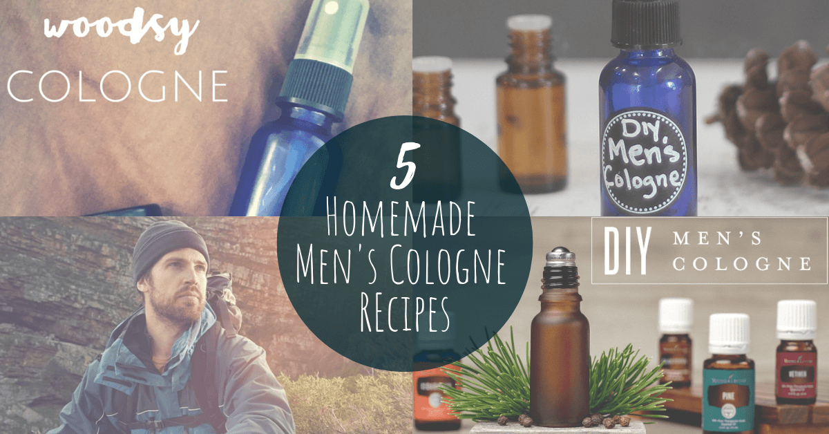 5 DIY Men's Cologne Recipes that Smell