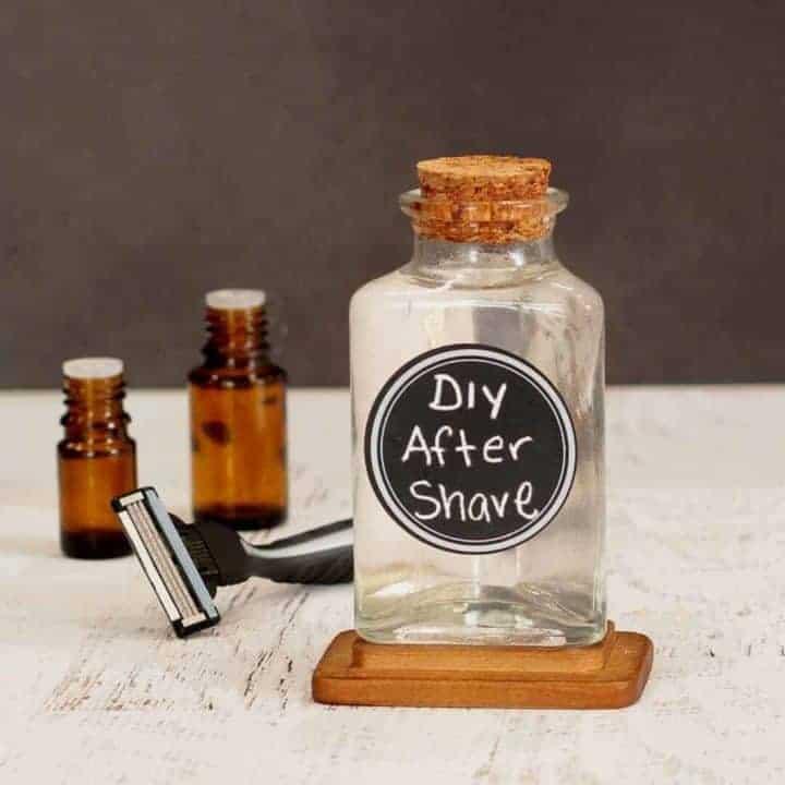 DIY Men's Aftershave Recipe