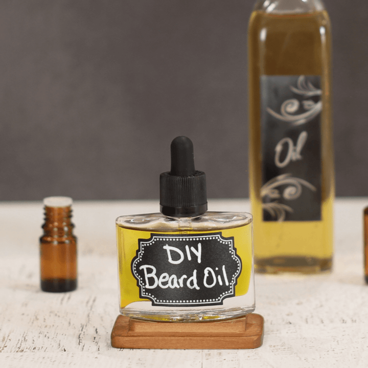 DIY Easy Beard Oil Recipe