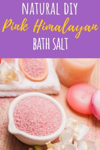 Pink Himalayan Salt Bath Recipe