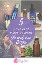 homemade men's cologne recipes