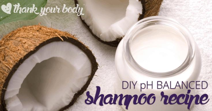 pH Balanced Shampoo Recipe for a Healthy Scalp