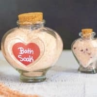 Pink Himalayan Bath Soak Recipe