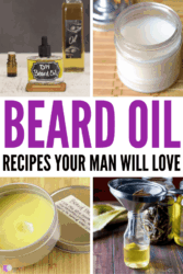 If you're looking for some super simple beard oil recipes, you're going to love these list! All are different but still so simple to create! DIY oil recipes aren't hard to make and they only take a few simple ingredients. Instead of heading to the store and buying something full of chemicals, why not try one of these natural approaches instead? You'll be amazed by the ease and scent of this beard oil recipe! #DIY #beardoil #essentialoil #beauty