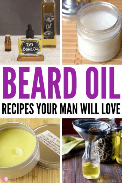 6 DIY Beard Oil Recipes Your Man Will Love