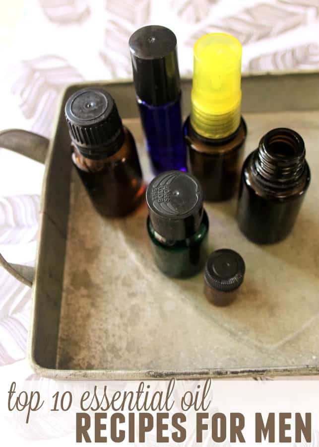 Top 10 Essential Oil Recipes for Men