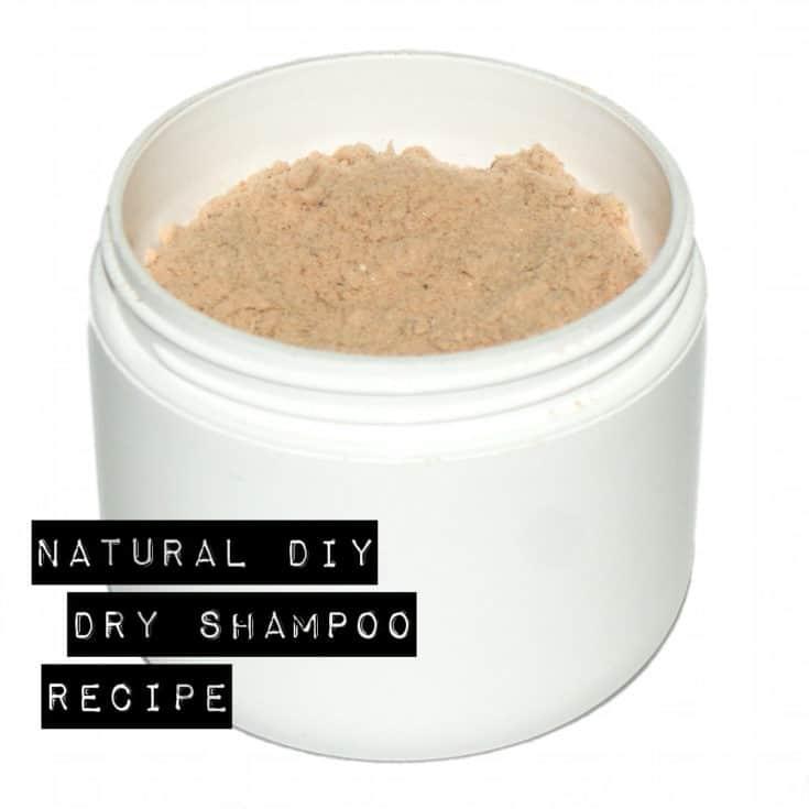 Best Ever Natural Homemade Dry Shampoo Recipe