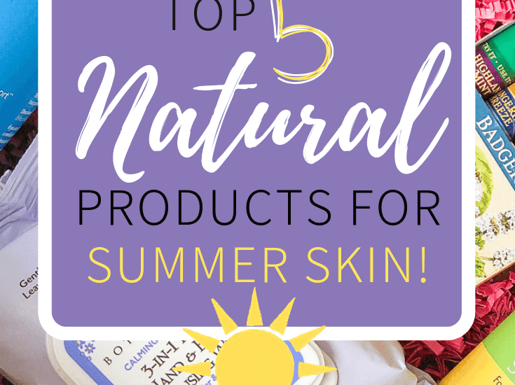 Sometimes purchasing safe, natural products can be a tad bit expensive. But I have found a way to save money on my favorite natural skincare products and get some awesome support along the way! Check out these 5 Top Natural Skincare Products for Summer Skin! #skincare #summer #sunscreen #luckyvitamin #savings #natural