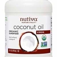 Nutiva Organic, Unrefined, Virgin Coconut Oil, 15 Fl Oz (Pack of 1)