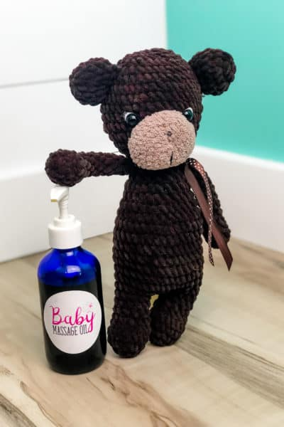 Best Baby Massage Oil Recipe: Infused with Lavender, Rose & Calendula!
