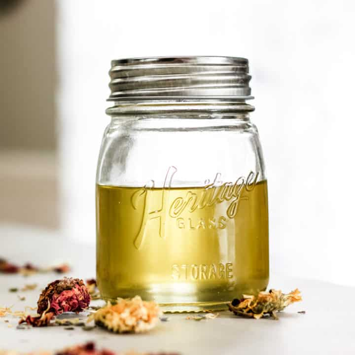 How to Make Herbal Infused Carrier Oils for the Skin