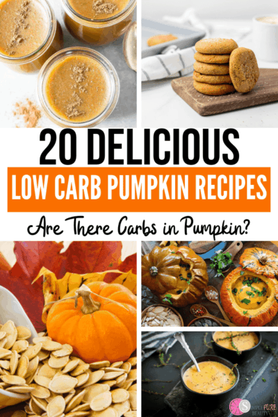 Low carb pumpkin pie, pumpkin cookies, pumpkin soup, pumpkin mousse recipes.