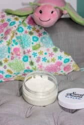 Whipped body butter for babies and kids