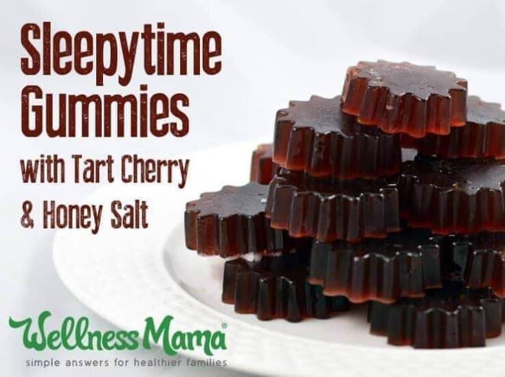 Tart Cherry Sleep Gummies Recipe