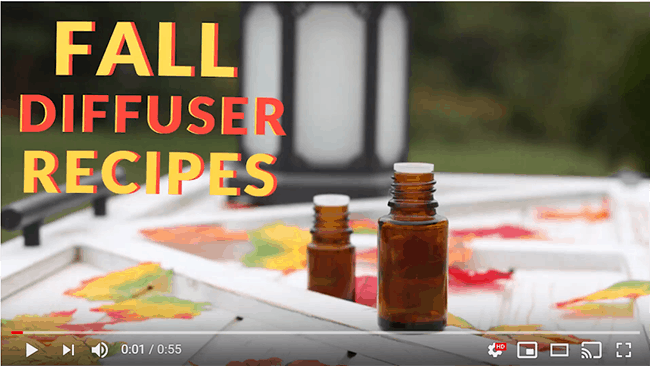 Youtube Video: Fall Diffuser Blend Recipes You Need!