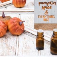 Pumpkin Spice Essential Oil Diffuser Blend