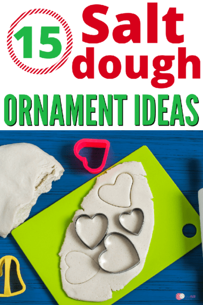 15 DIY Salt Dough Ornament Ideas