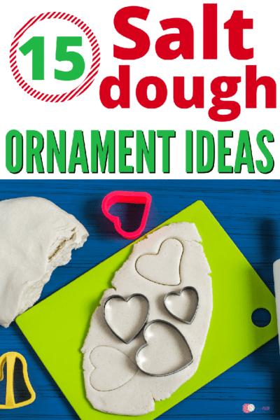 15 DIY Salt Dough Ornament Ideas