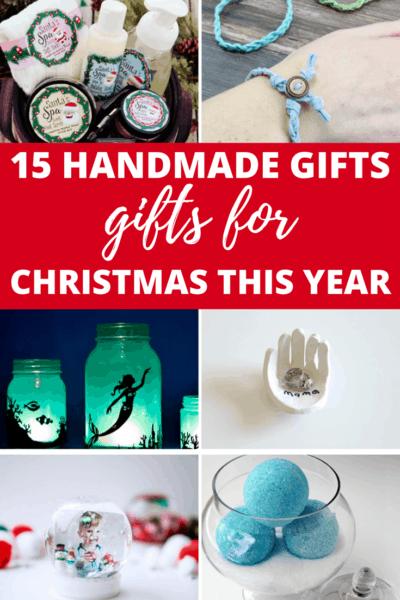 15 Handmade Gifts for Christmas