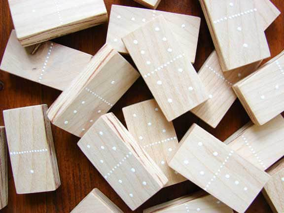 DIY Domino Set