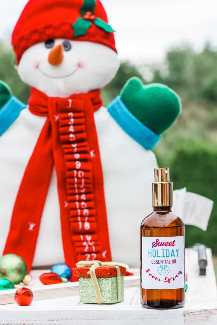 cinnamon air freshener with essential oils